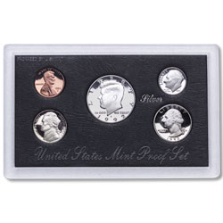 1992 Proof Set, Silver