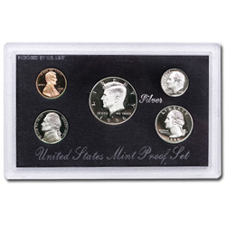 1996 Proof Set, Silver