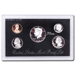 1997 Proof Set, Silver