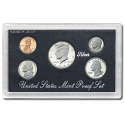 1998 Proof Set, Silver