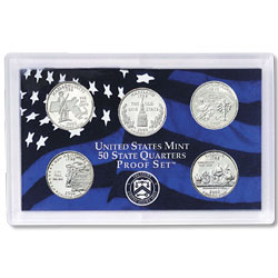 2000 Proof Set, 50 State Quarters