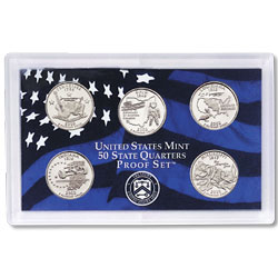 2002 Proof Set, 50 State Quarters