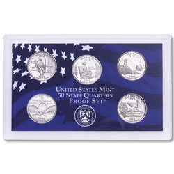 2003 Proof Set, 50 State Quarters