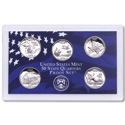 2004 Proof Set, 50 State Quarters
