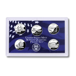 2005 Proof Set, 50 State Quarters