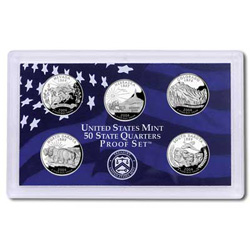 2006 Proof Set, 50 State Quarters