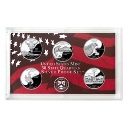 2007 Proof Set, Silver 50 State Quarters