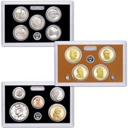 2011-S Silver Proof Set (14 coins)
