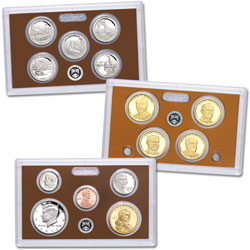 2014-S U.S. Mint Clad Proof Set (14 coins)