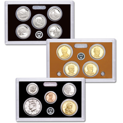 2014-S U.S. Mint Silver Proof Set (14 coins)