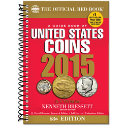 2015 Guide Book of U.S. Coins, 68th Edition (Softcover)
