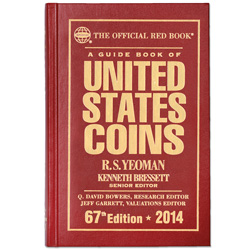 2014 Guide Book of U.S. Coins, 67th Edition (Hardcover)