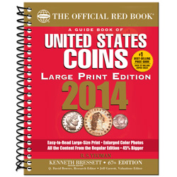 2014 Guide Book of U.S. Coins, 67th Edition (Large Print Softcover)