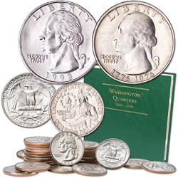 1968-1998 Washington Quarter Year Set (30 coins) with Album
