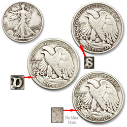 Liberty Walking Half Dollar All-Mint Set