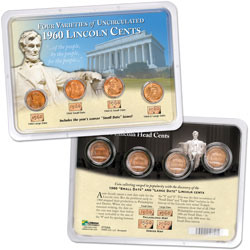 1960 Lincoln Cent Set in Showpak