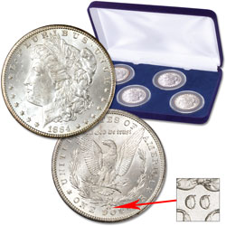 1880s Morgan Dollar All-Mint Set