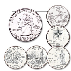 5-coin Year Set