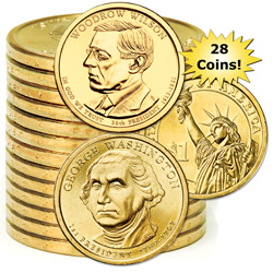 2007-2013 Presidential Dollar Set (28 coins)