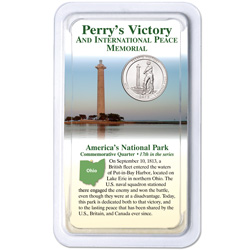 2013 Perry's Victory & International Peace Memorial Quarter in Showpak