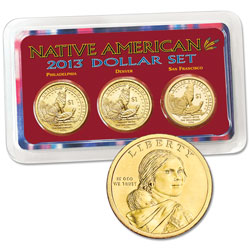 2013 PDS Native American Dollar Showpak