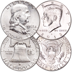 1963 & 2013 John F. Kennedy Tribute Set (2 coins)