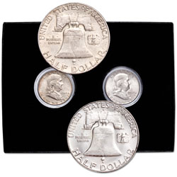 1948-1963-D First and Last Franklin Half Dollar Set