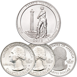 2013 PDS Perry's Victory and Intl. Peace Memorial Quarter Set