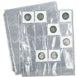 20 Pocket Page (Coin-Sert)