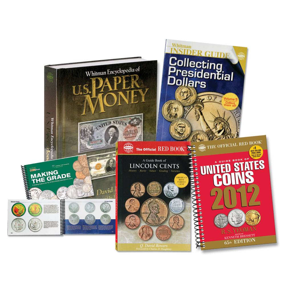 Learn more with beginner coin collecting books