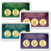 2012 All Four PDS Presidential Dollar Showpaks