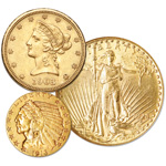 Gold Type Coins