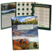 2010-2021 America's National Park Quarter Series Colorful Folder