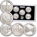 2011-S America's National Park Quarters 90% Silver Proof Set (5 coins)