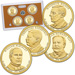 2013-S U.S. Mint Presidential Dollar Proof Set (4 coins)