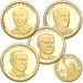 2014-S Presidential Dollar Proof Year Set (4 coins)