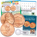 Lincoln Cent Introduction to Coin Collecting Kit (20 coins)