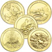 2012 Gold-Plated National Park Quarter Year Set