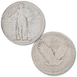 1920 Standing Liberty Silver Quarter