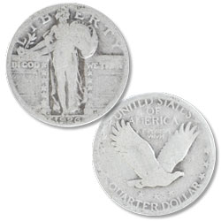 1926-S Standing Liberty Silver Quarter