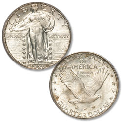 1928-S Standing Liberty Silver Quarter