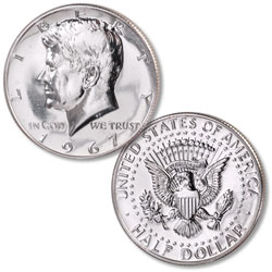 1966 Kennedy Half Dollar, From Special Mint Set | Littleton Coin Company