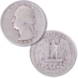 Washington Quarters (1932-1998) | Littleton Coin Company