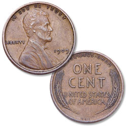 1909 V.D.B. Lincoln Head Cent