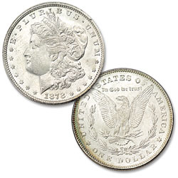 1878 7 Tail Feathers Morgan Silver Dollar, 2nd Reverse