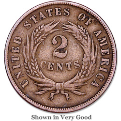 1865 Two-Cent Piece