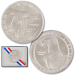 1983-D Los Angeles Olympiad Silver Dollar