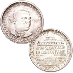 1946 Booker T. Washington Memorial Silver Half Dollar