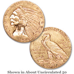 1909-D Indian Head Gold $5 Half Eagle