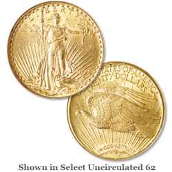 1928 Saint-Gaudens Gold $20 Double Eagle